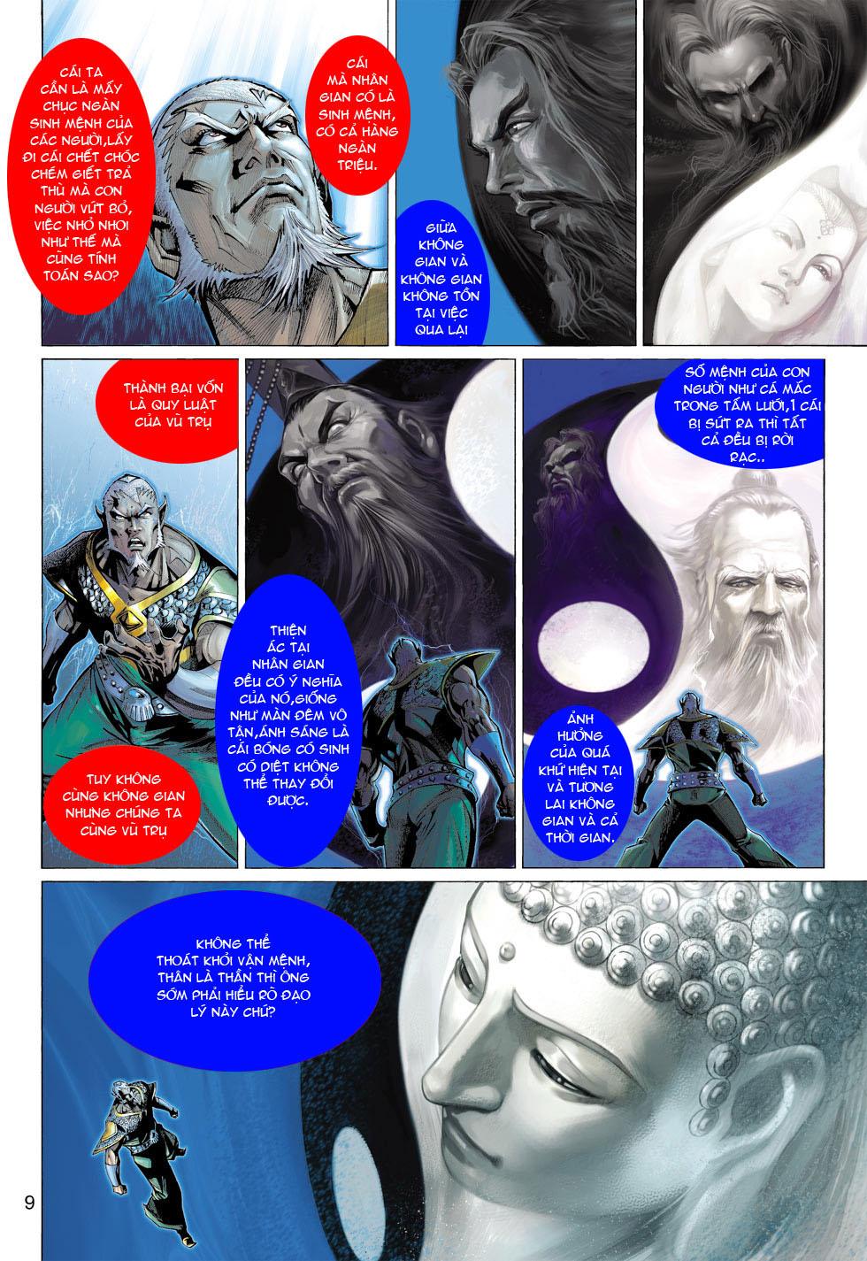 Thần Binh 4 chap 12 - Trang 10