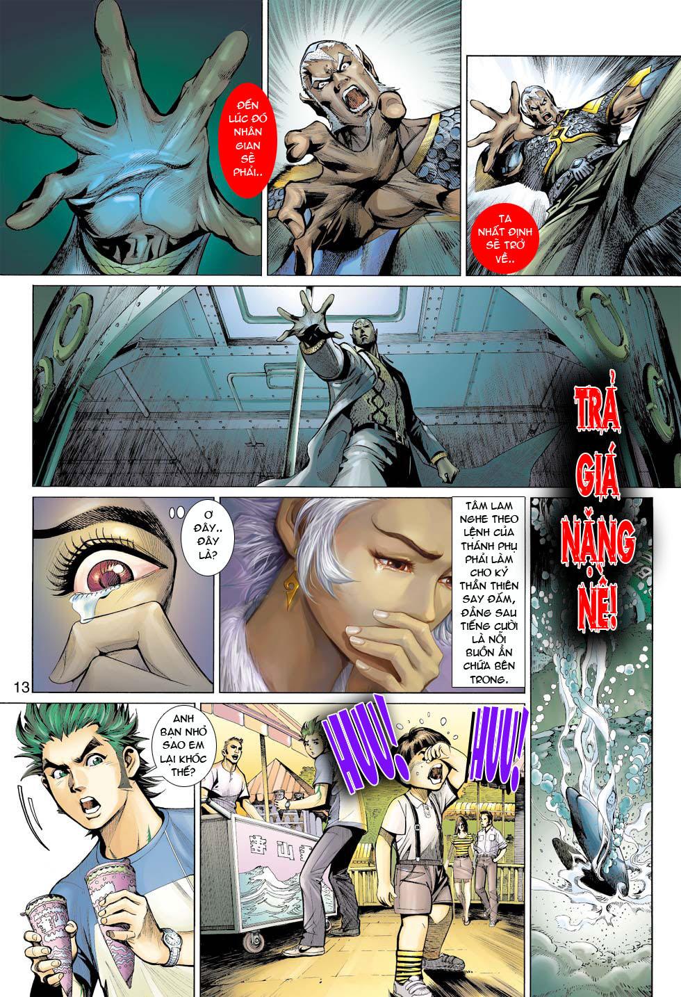 Thần Binh 4 chap 12 - Trang 14