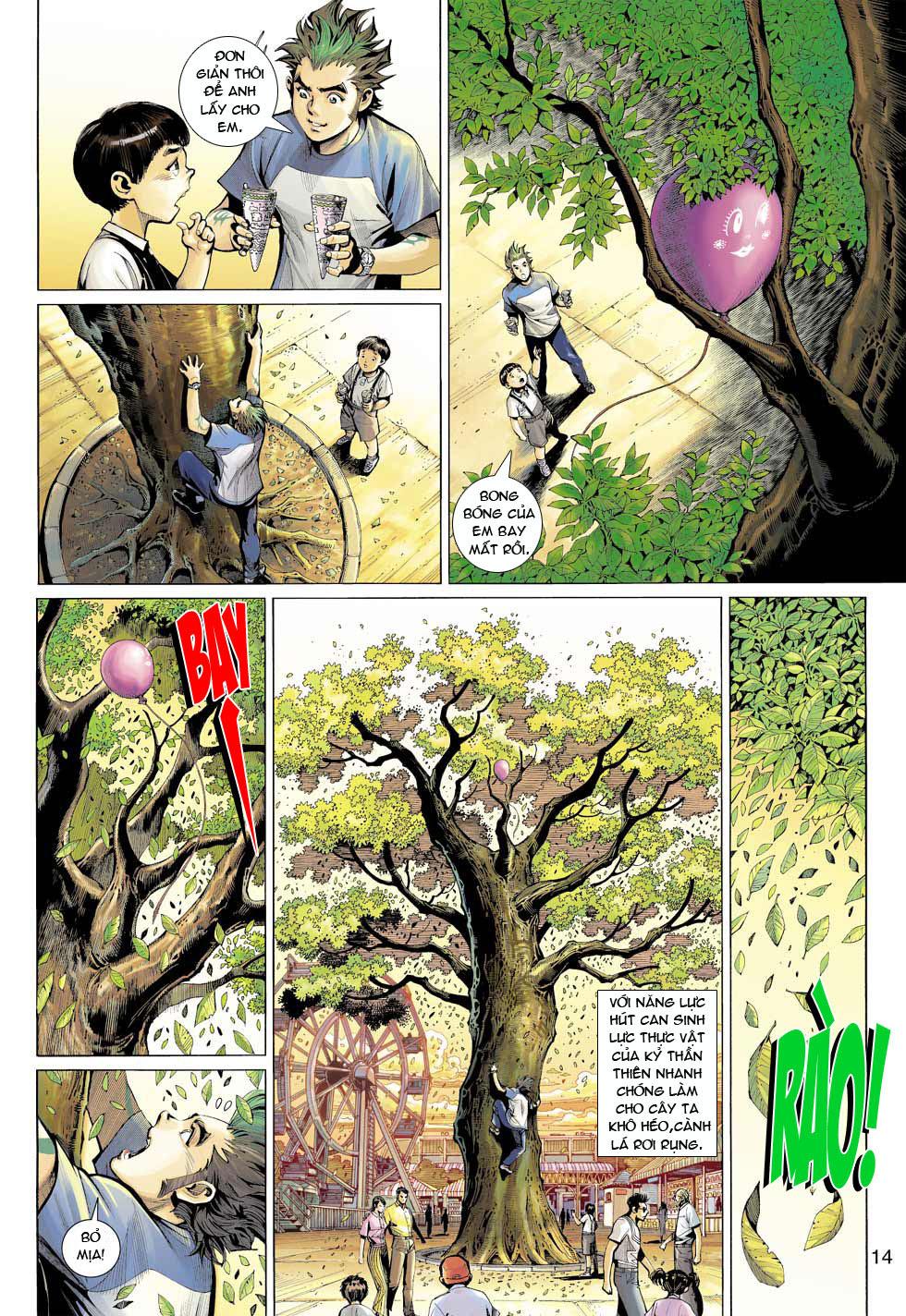 Thần Binh 4 chap 12 - Trang 15