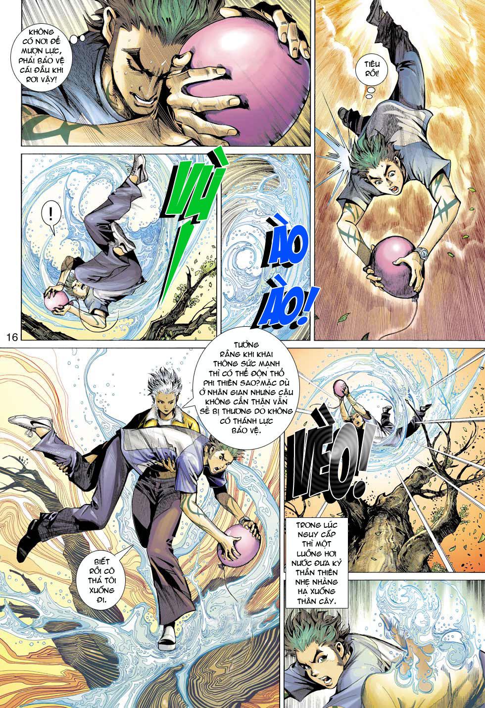 Thần Binh 4 chap 12 - Trang 17