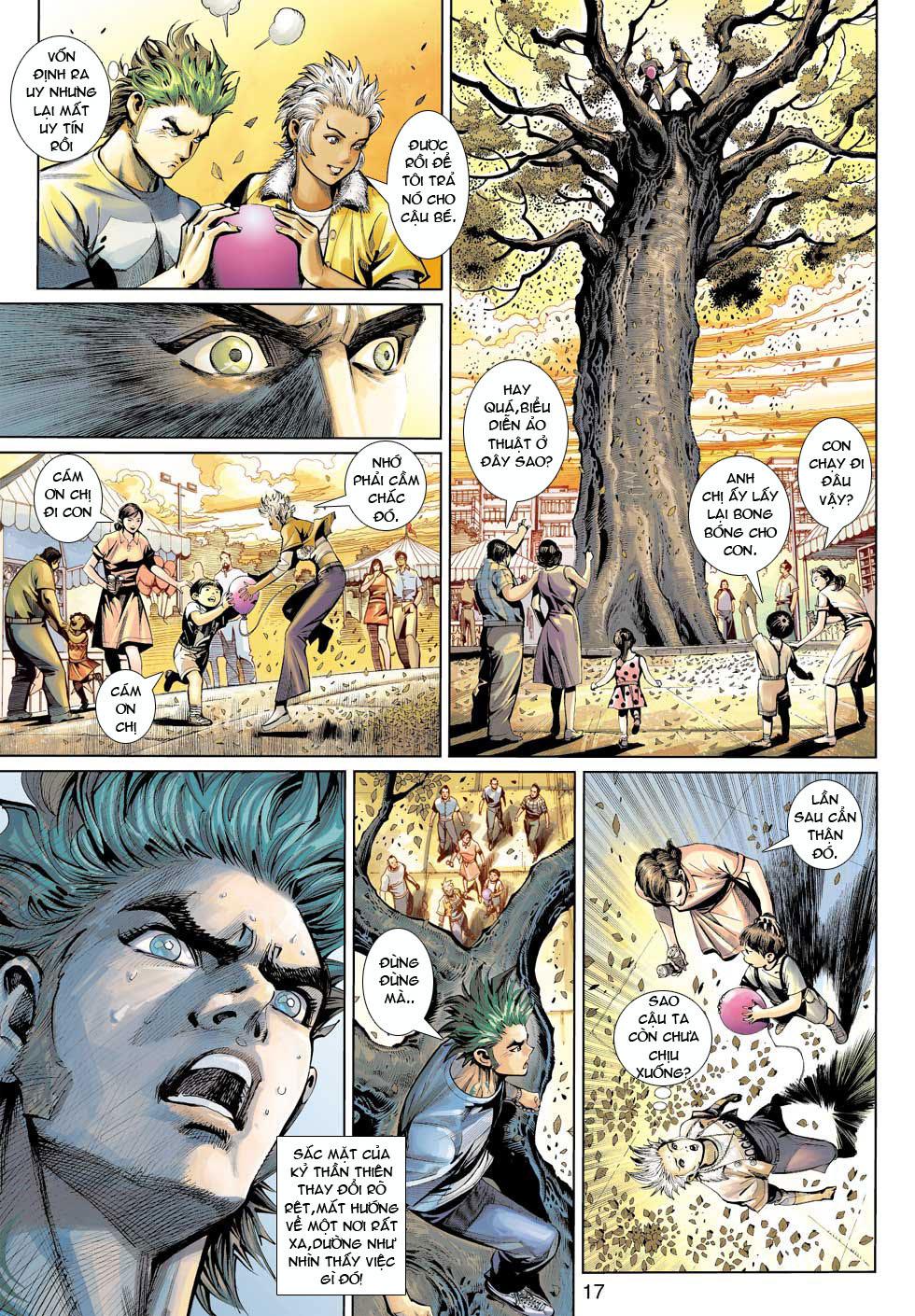 Thần Binh 4 chap 12 - Trang 18