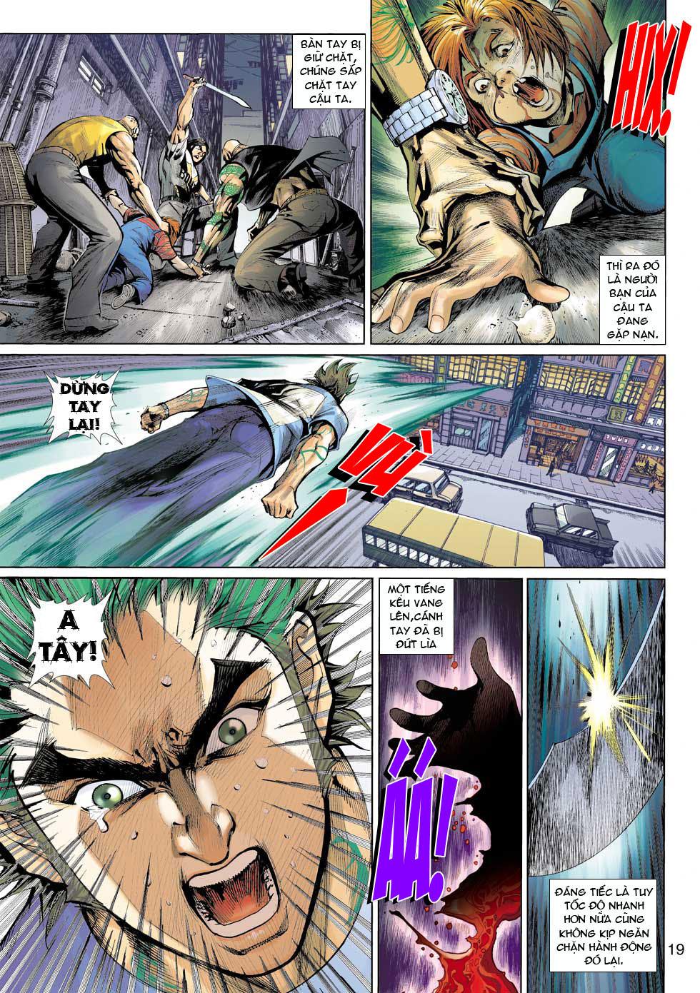Thần Binh 4 chap 12 - Trang 20