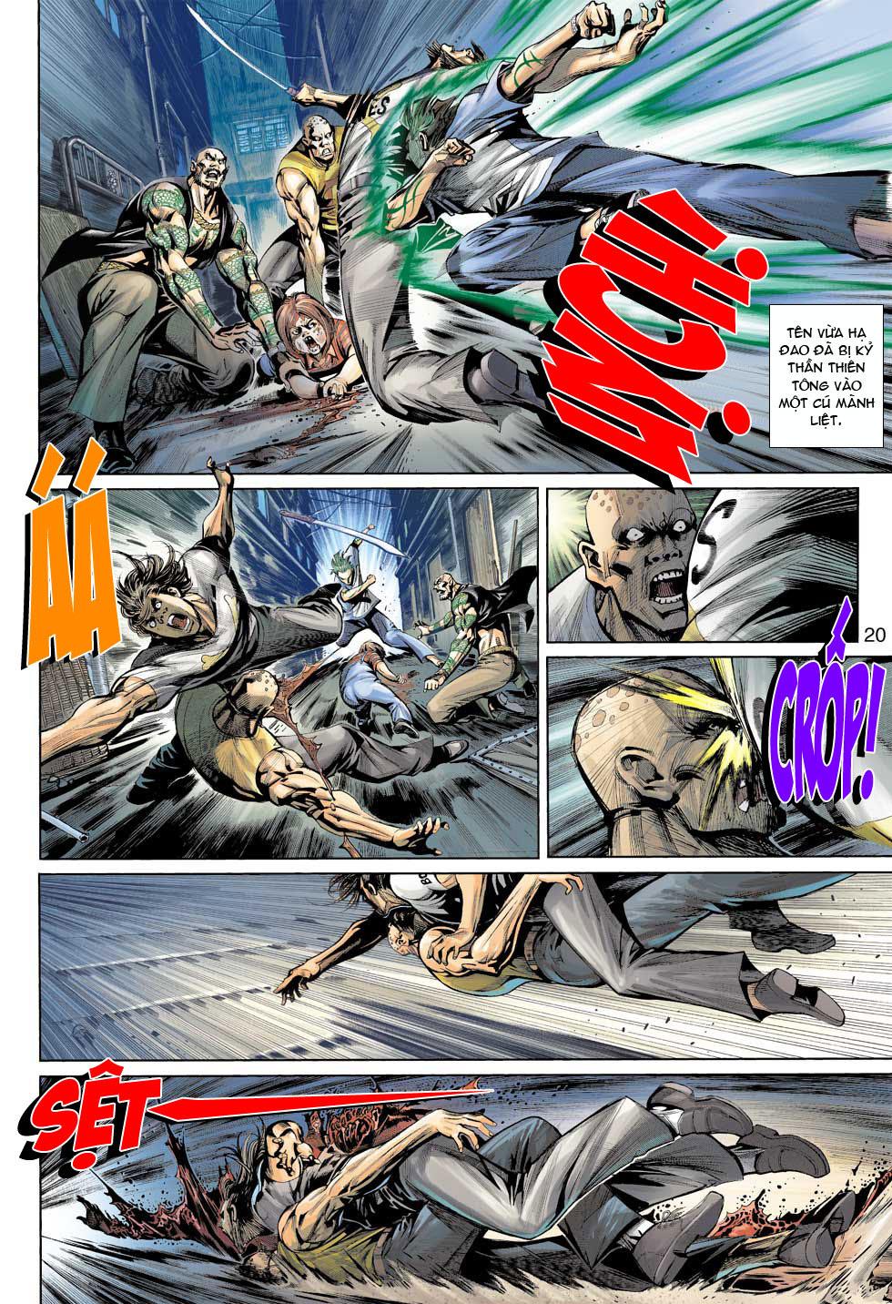 Thần Binh 4 chap 12 - Trang 21