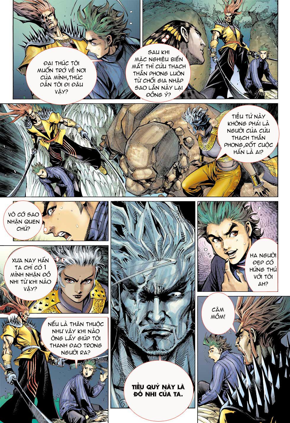 Thần Binh 4 chap 8 - Trang 7