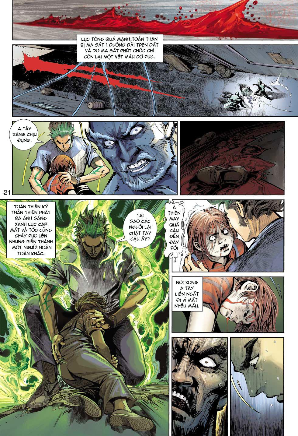 Thần Binh 4 chap 12 - Trang 22