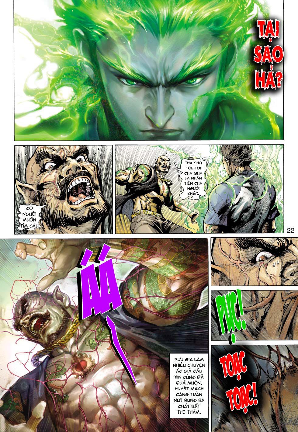 Thần Binh 4 chap 12 - Trang 23