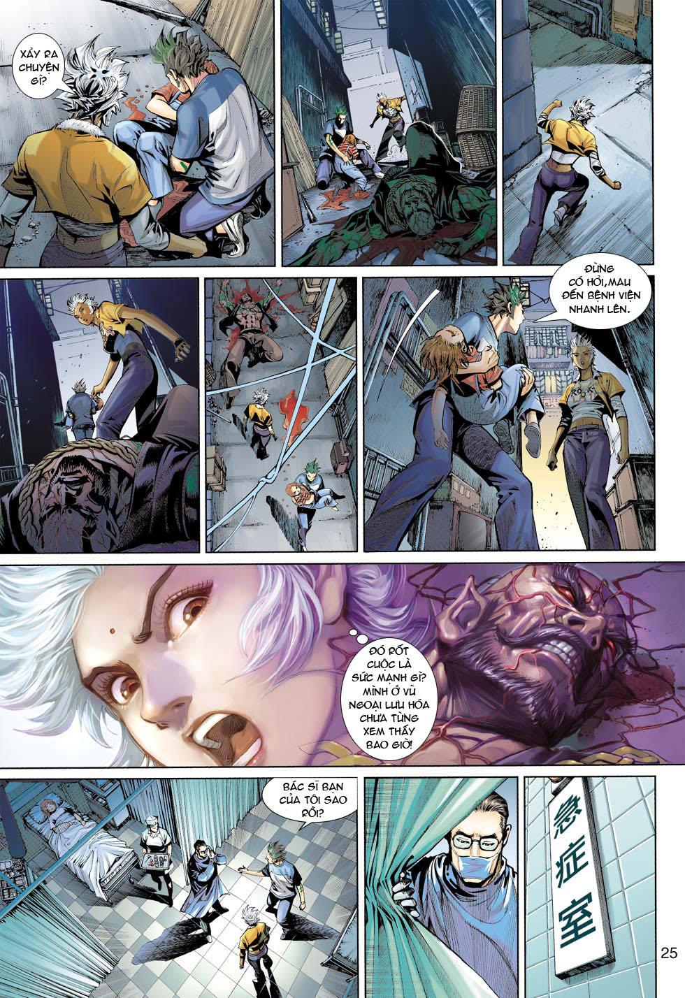 Thần Binh 4 chap 12 - Trang 26