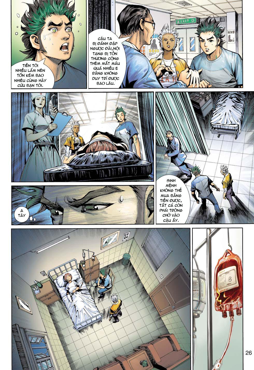Thần Binh 4 chap 12 - Trang 27