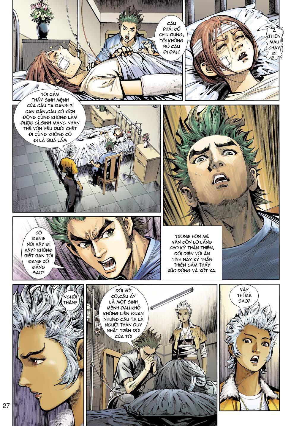 Thần Binh 4 chap 12 - Trang 28