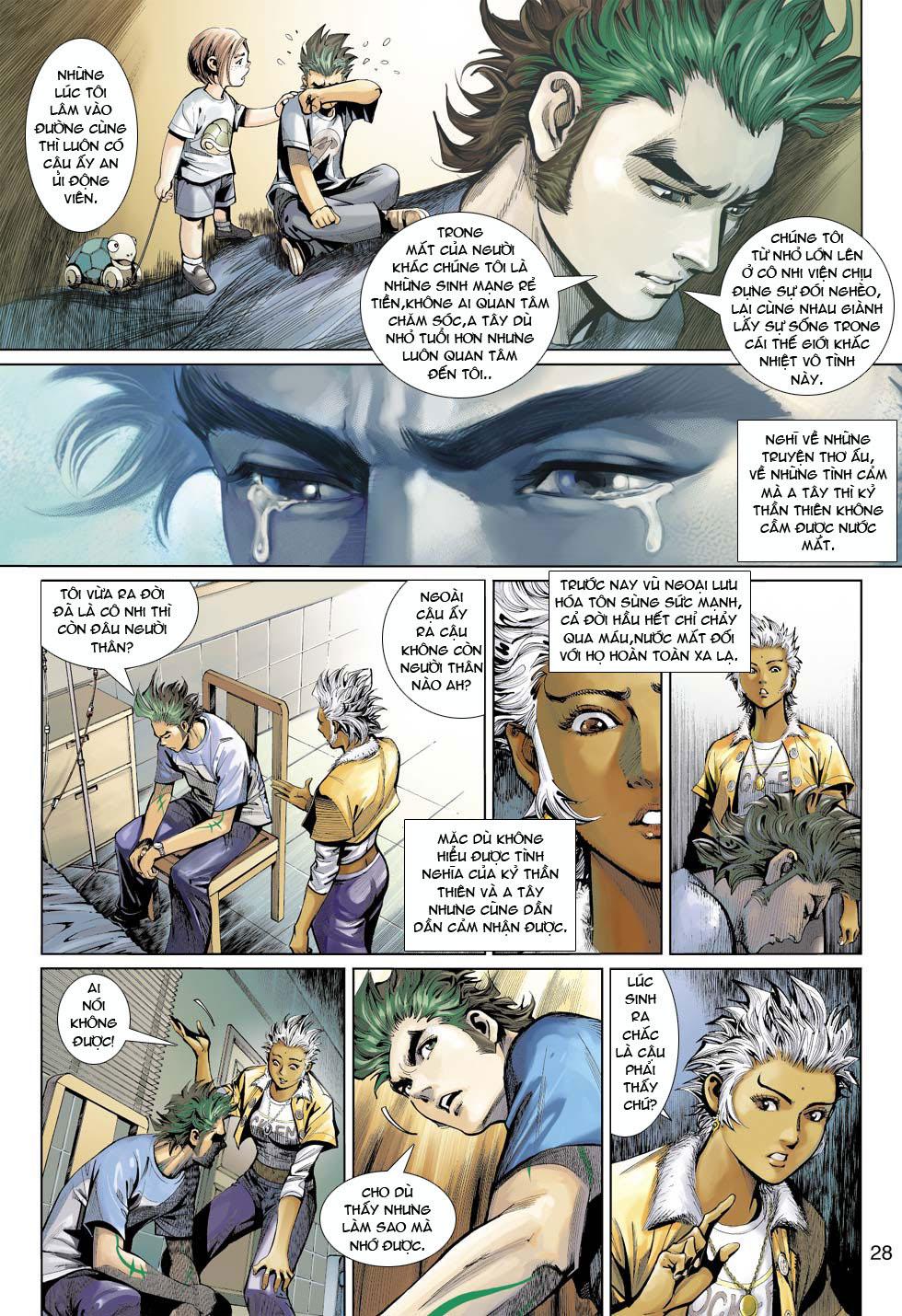 Thần Binh 4 chap 12 - Trang 29