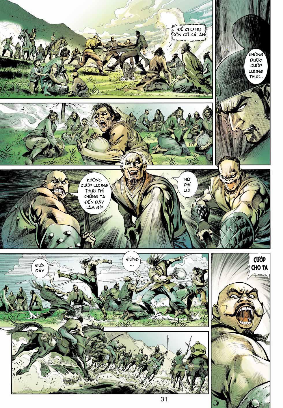 Thần Binh 4 chap 12 - Trang 32
