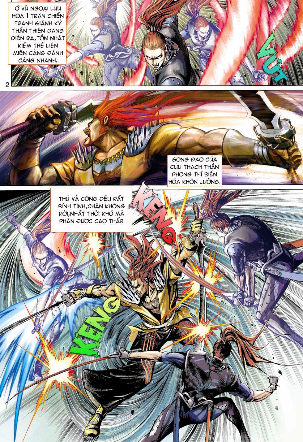 Thần Binh 4 chap 7 - Trang 2