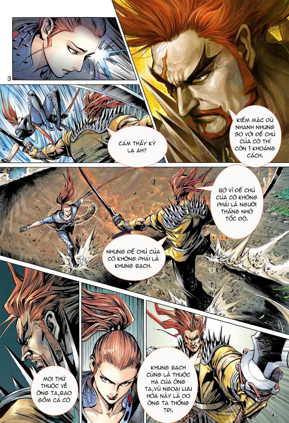 Thần Binh 4 chap 7 - Trang 3