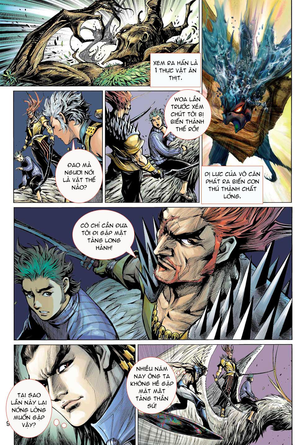 Thần Binh 4 chap 8 - Trang 9