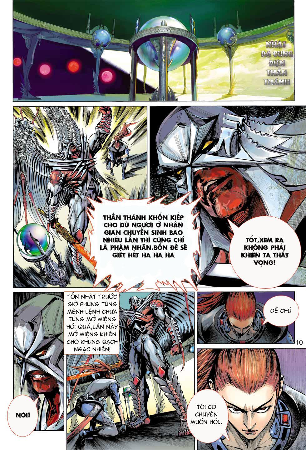 Thần Binh 4 chap 8 - Trang 10