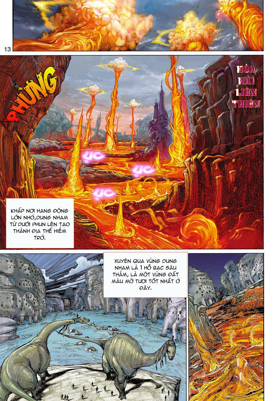 Thần Binh 4 chap 8 - Trang 13