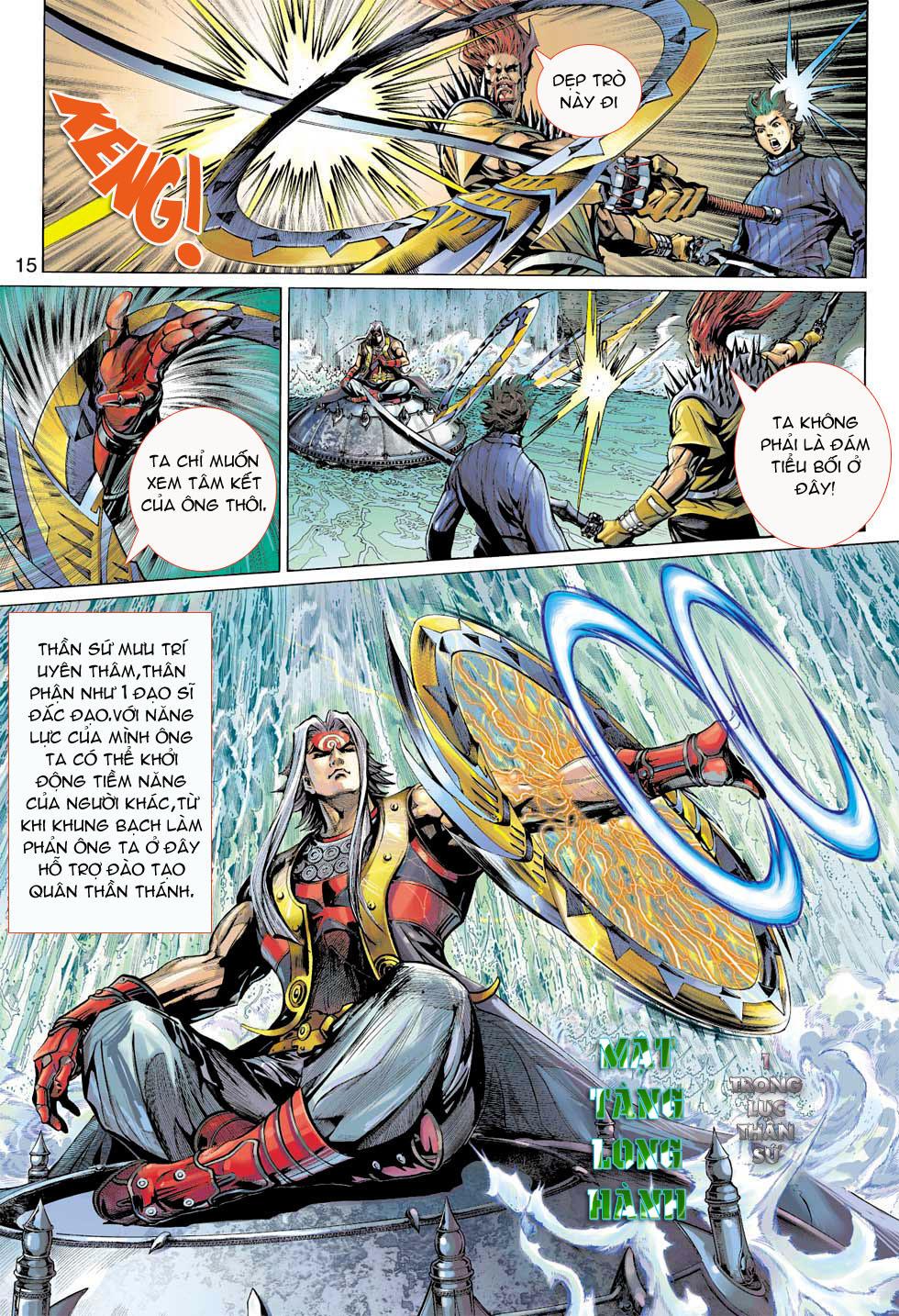 Thần Binh 4 chap 8 - Trang 15