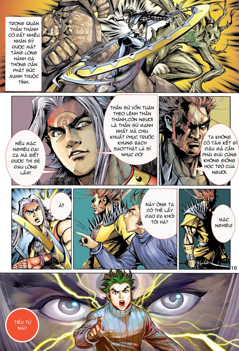Thần Binh 4 chap 8 - Trang 16