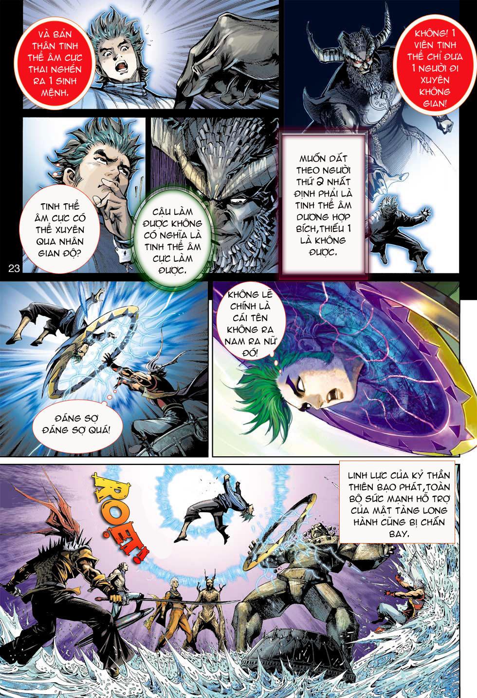 Thần Binh 4 chap 8 - Trang 23