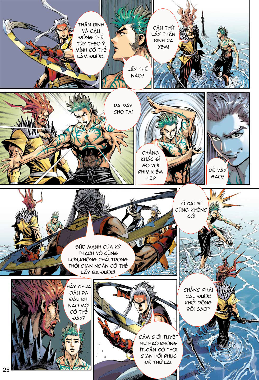 Thần Binh 4 chap 8 - Trang 25