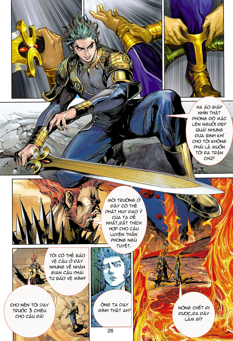 Thần Binh 4 chap 8 - Trang 26