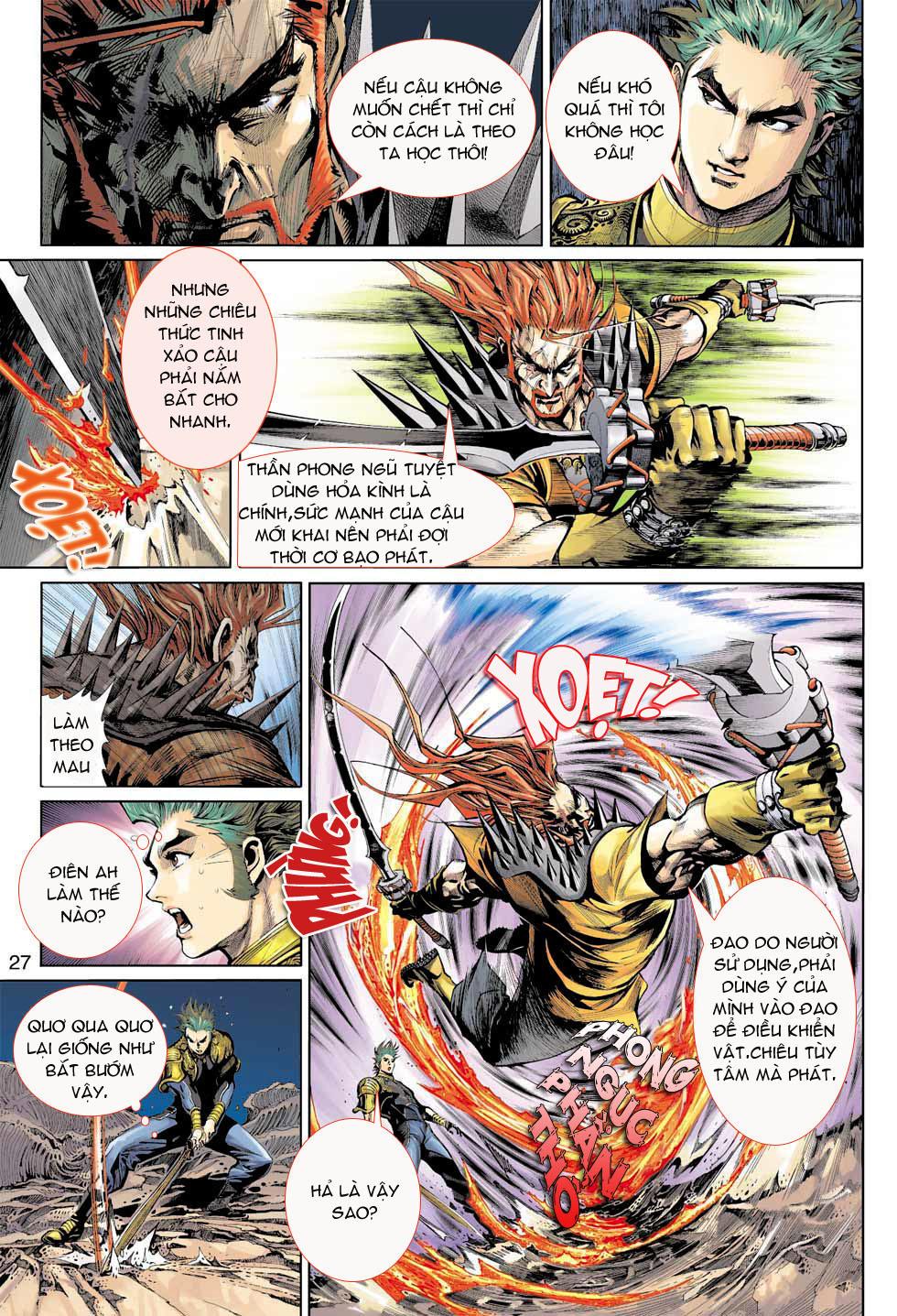 Thần Binh 4 chap 8 - Trang 27