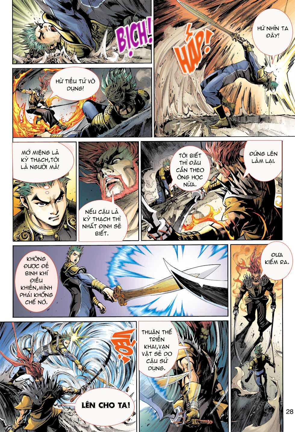 Thần Binh 4 chap 8 - Trang 28