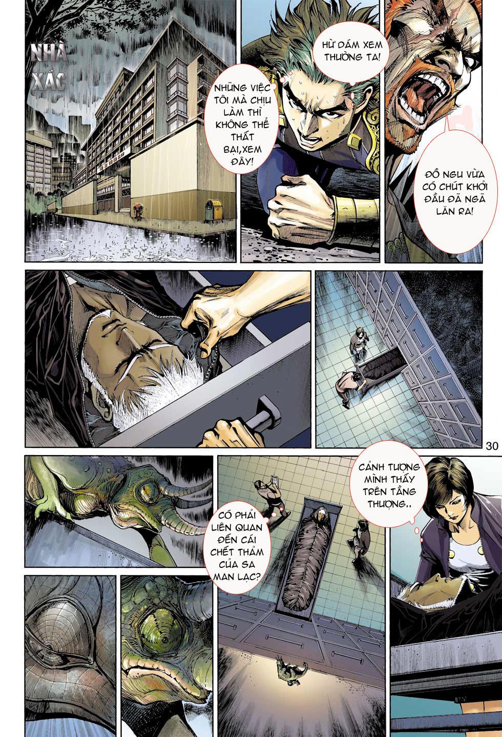 Thần Binh 4 chap 8 - Trang 30