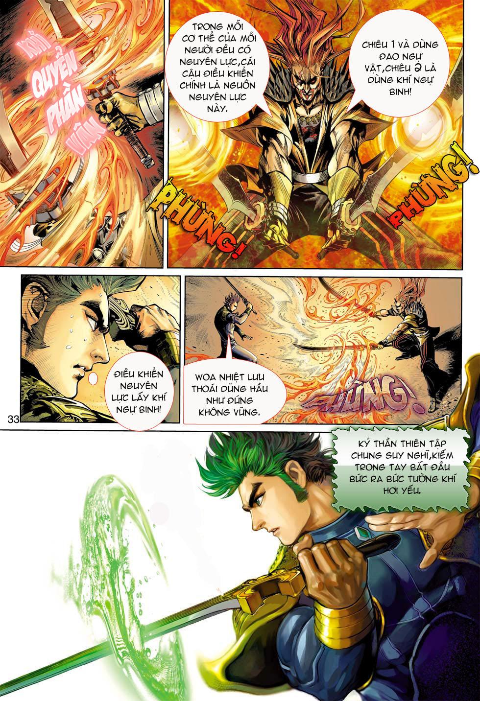 Thần Binh 4 chap 8 - Trang 33