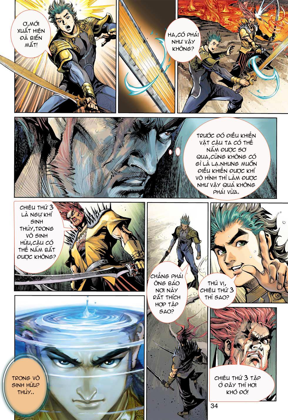 Thần Binh 4 chap 8 - Trang 34