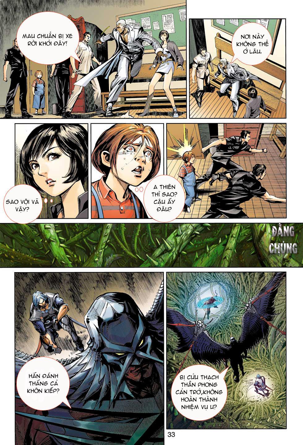 Thần Binh 4 chap 7 - Trang 33