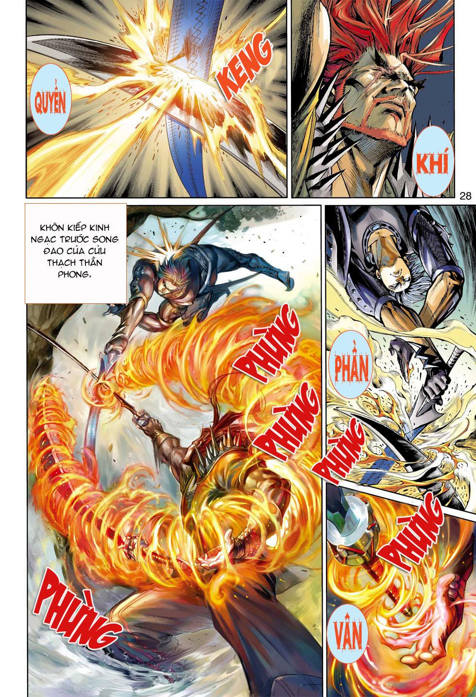 Thần Binh 4 chap 7 - Trang 28