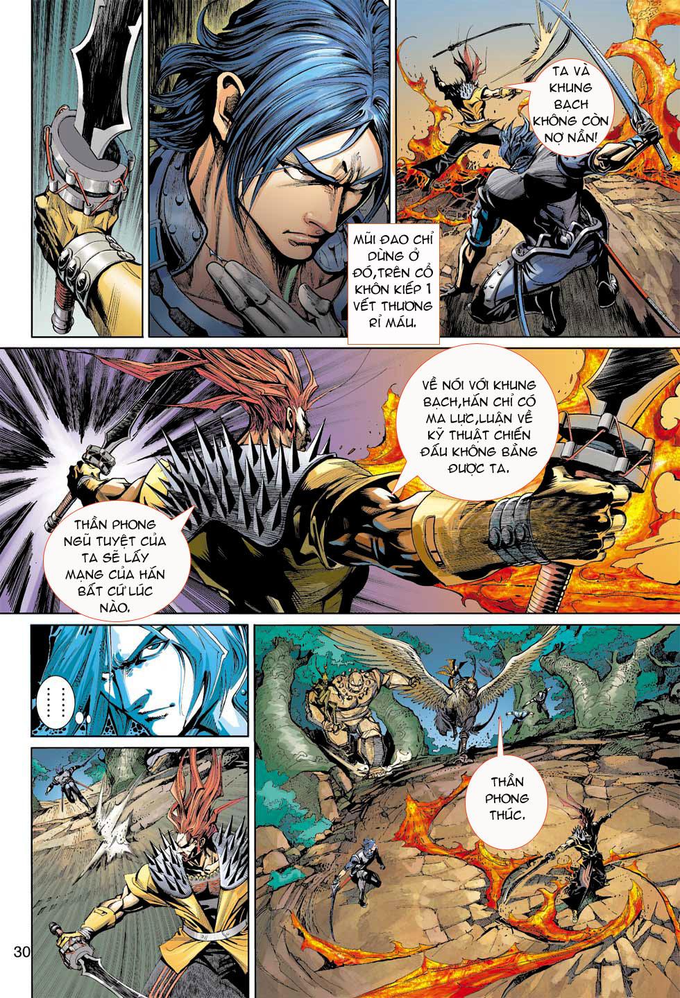 Thần Binh 4 chap 7 - Trang 30