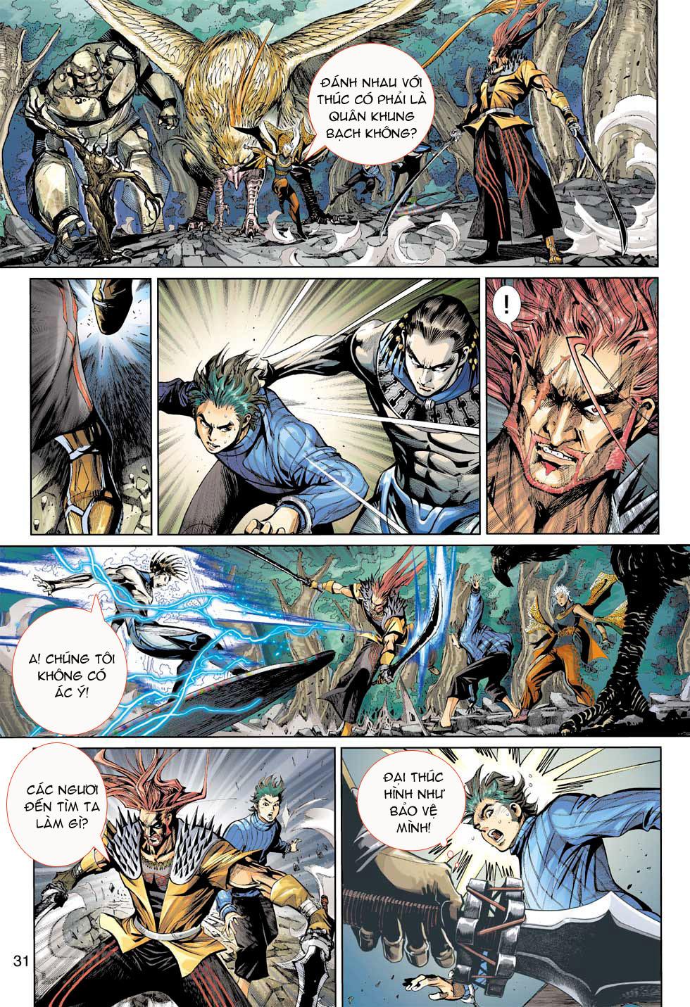 Thần Binh 4 chap 7 - Trang 31
