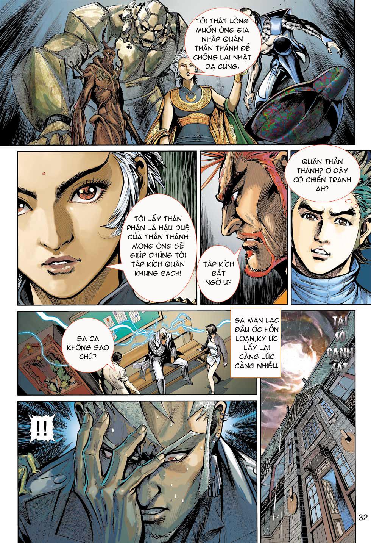 Thần Binh 4 chap 7 - Trang 32