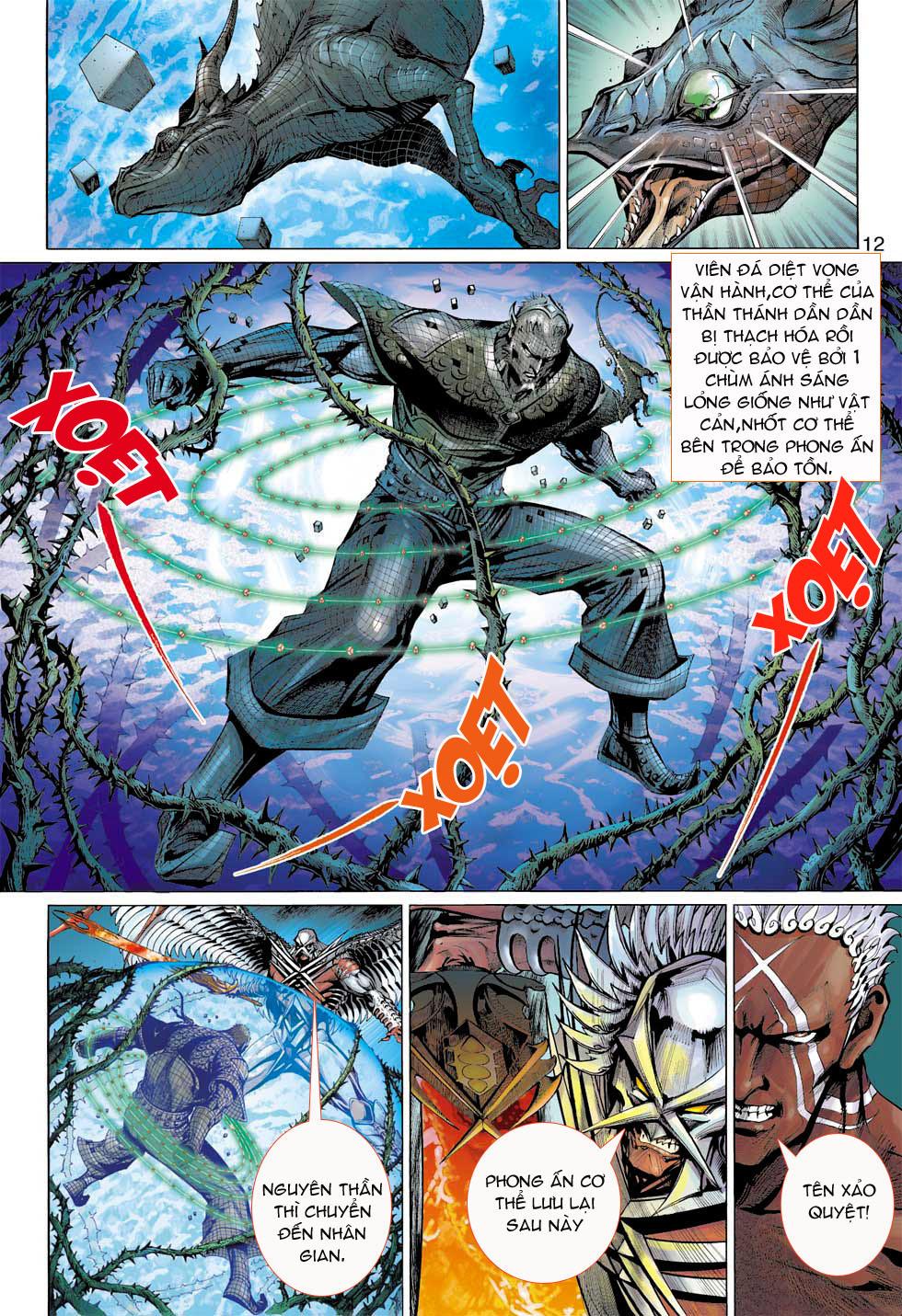 Thần Binh 4 chap 7 - Trang 12