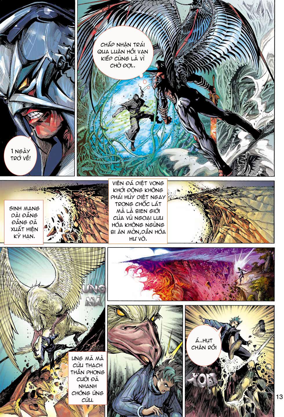 Thần Binh 4 chap 7 - Trang 13
