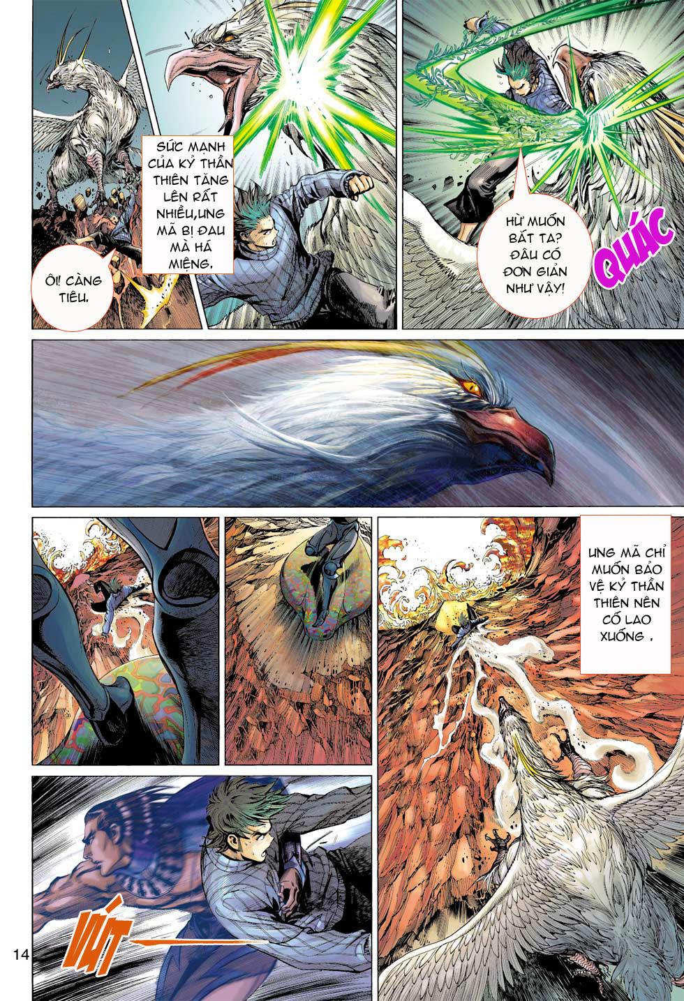 Thần Binh 4 chap 7 - Trang 14