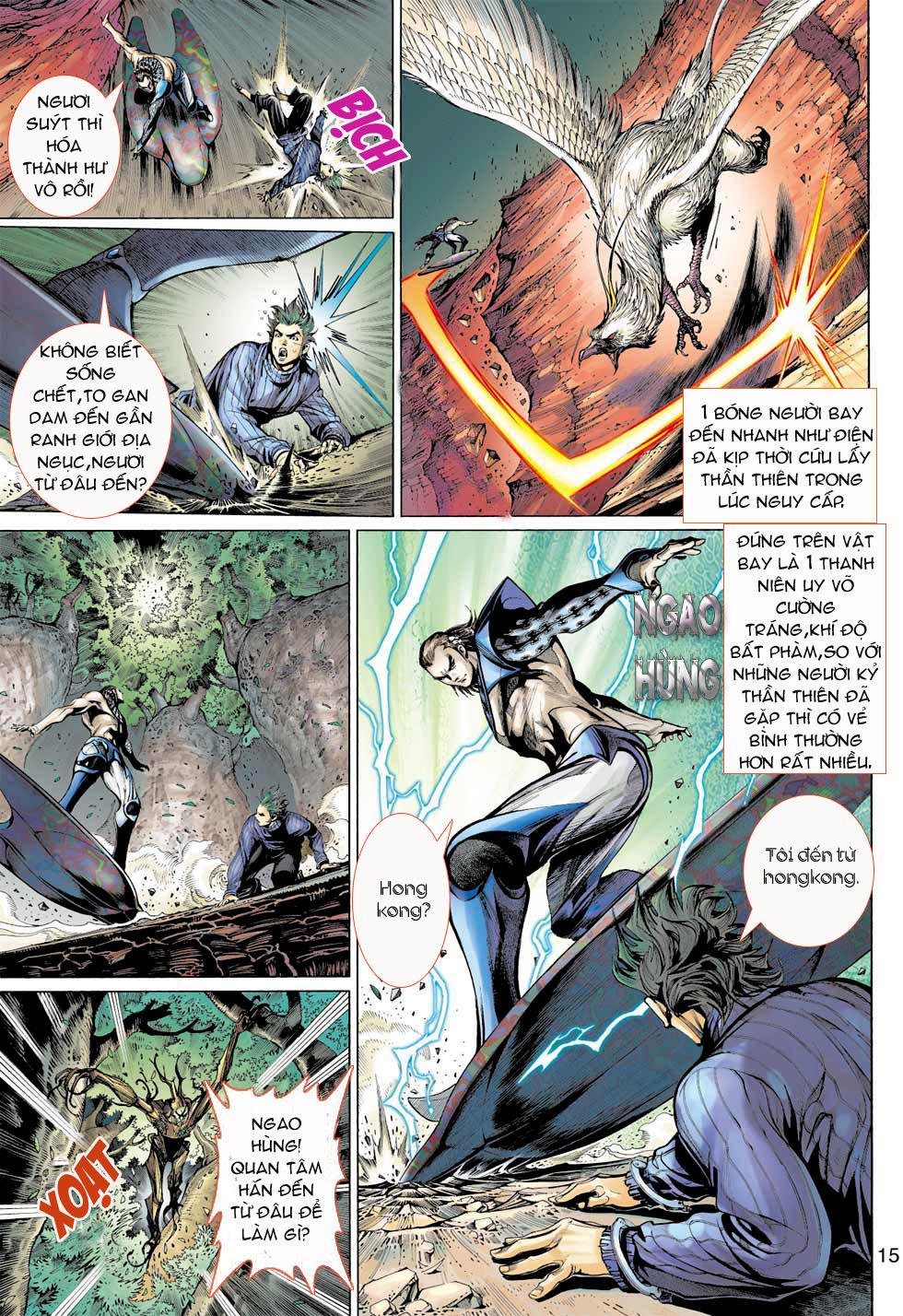 Thần Binh 4 chap 7 - Trang 15