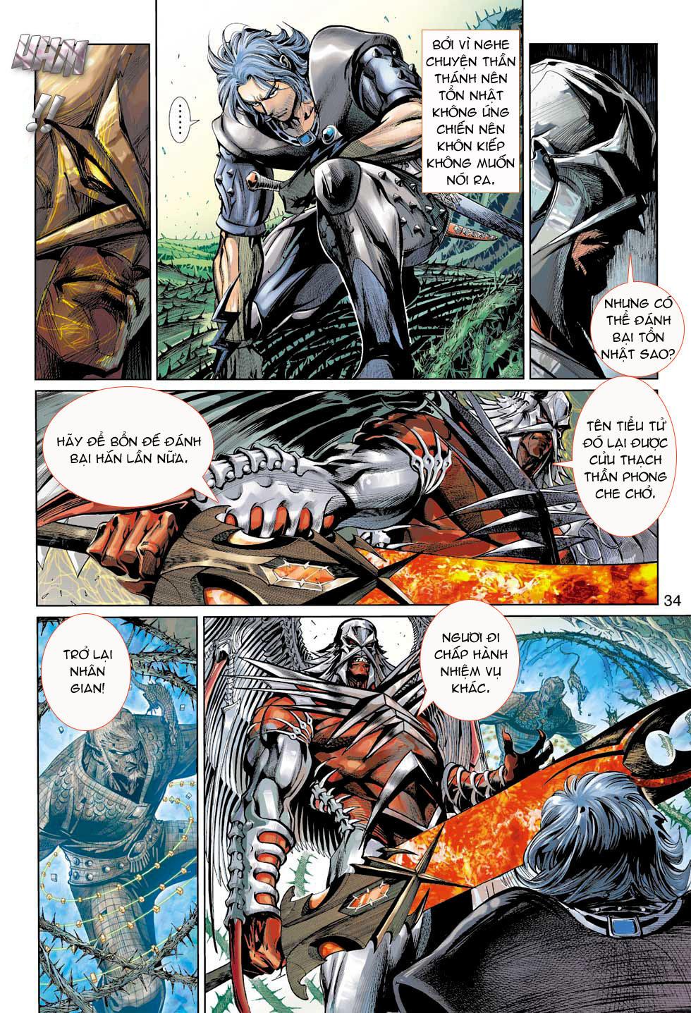 Thần Binh 4 chap 7 - Trang 34