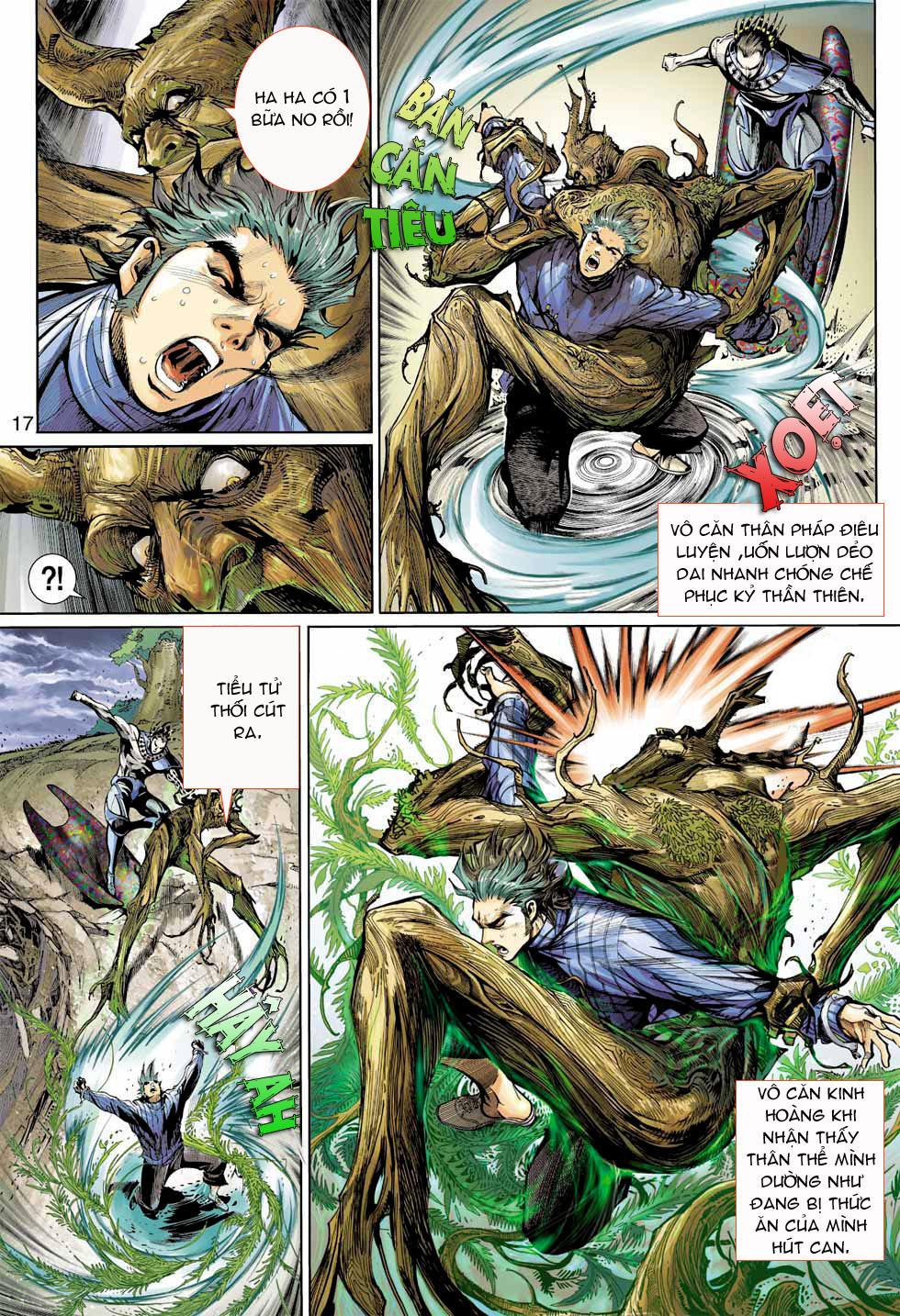 Thần Binh 4 chap 7 - Trang 17