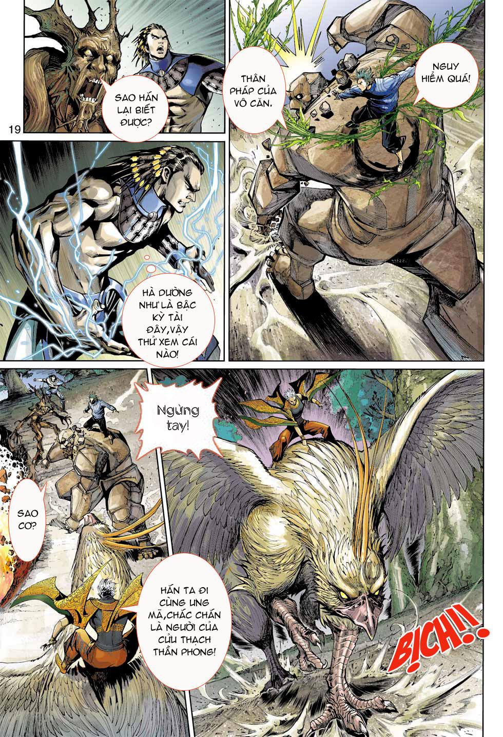 Thần Binh 4 chap 7 - Trang 19