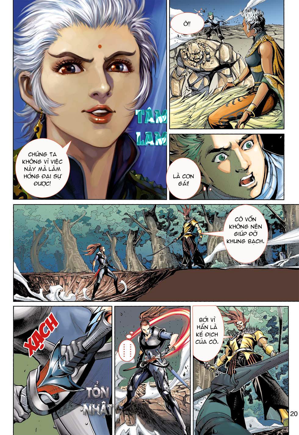 Thần Binh 4 chap 7 - Trang 20