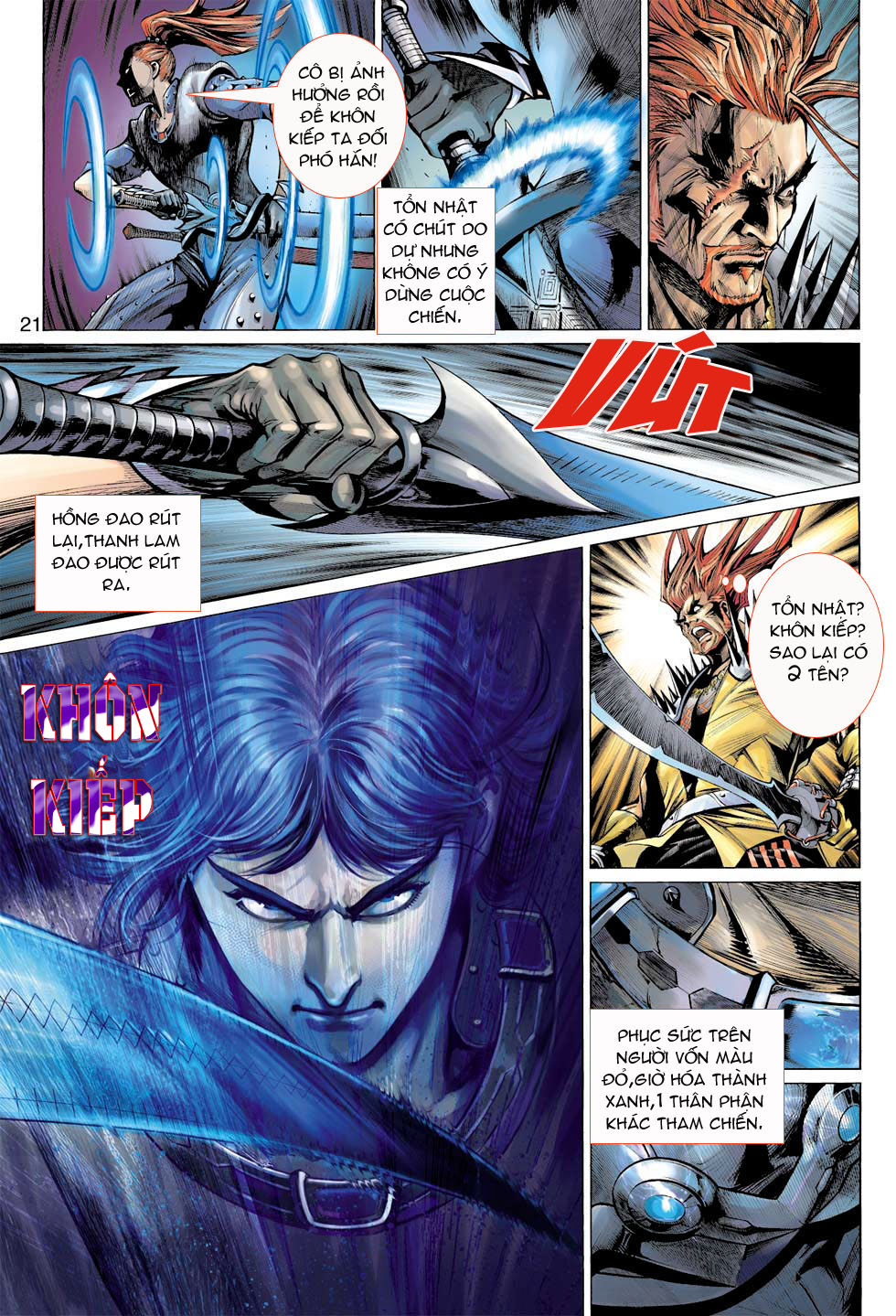 Thần Binh 4 chap 7 - Trang 21