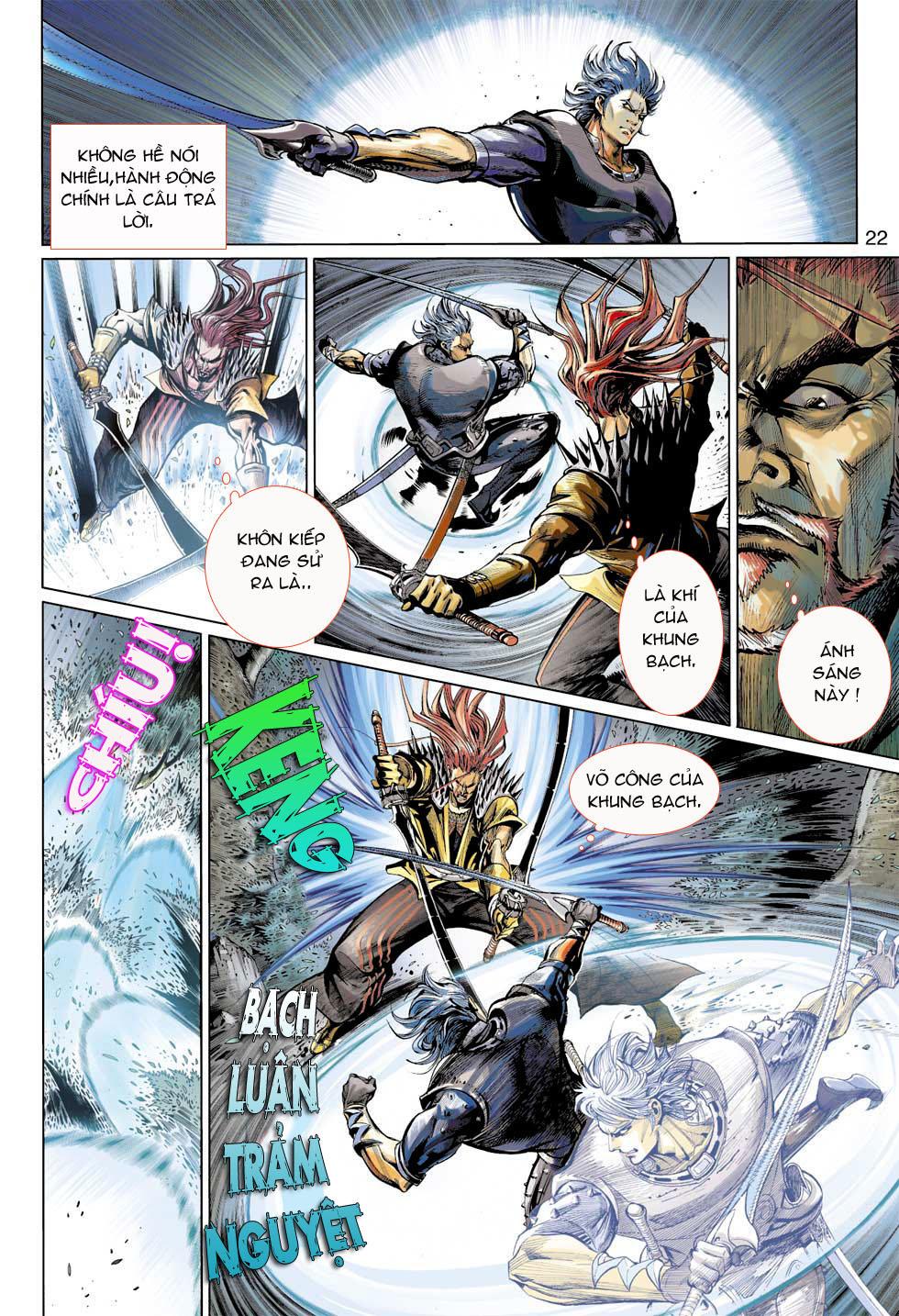 Thần Binh 4 chap 7 - Trang 22