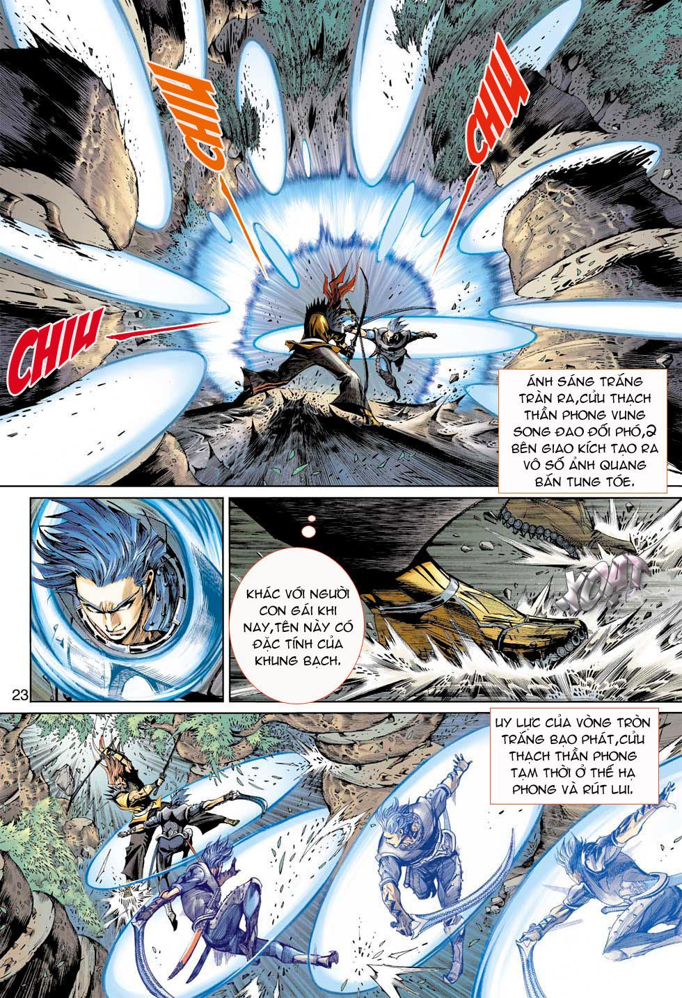 Thần Binh 4 chap 7 - Trang 23