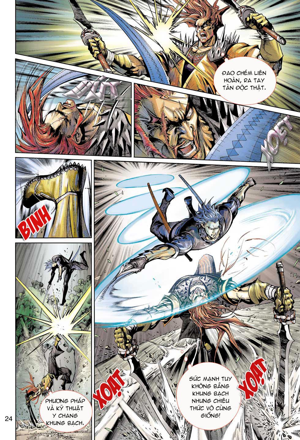 Thần Binh 4 chap 7 - Trang 24