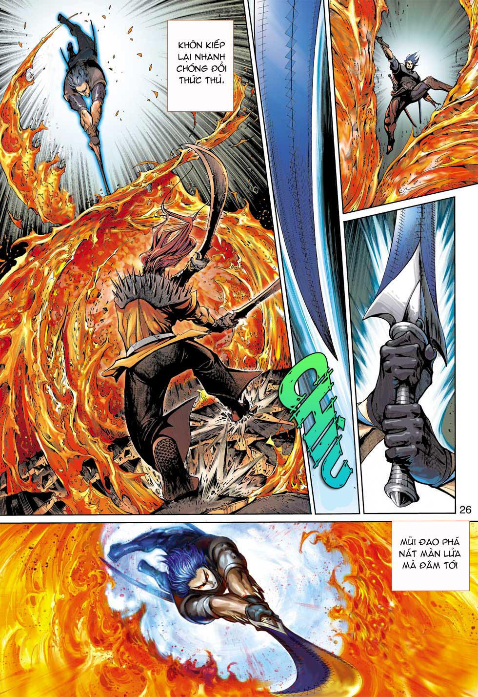 Thần Binh 4 chap 7 - Trang 26