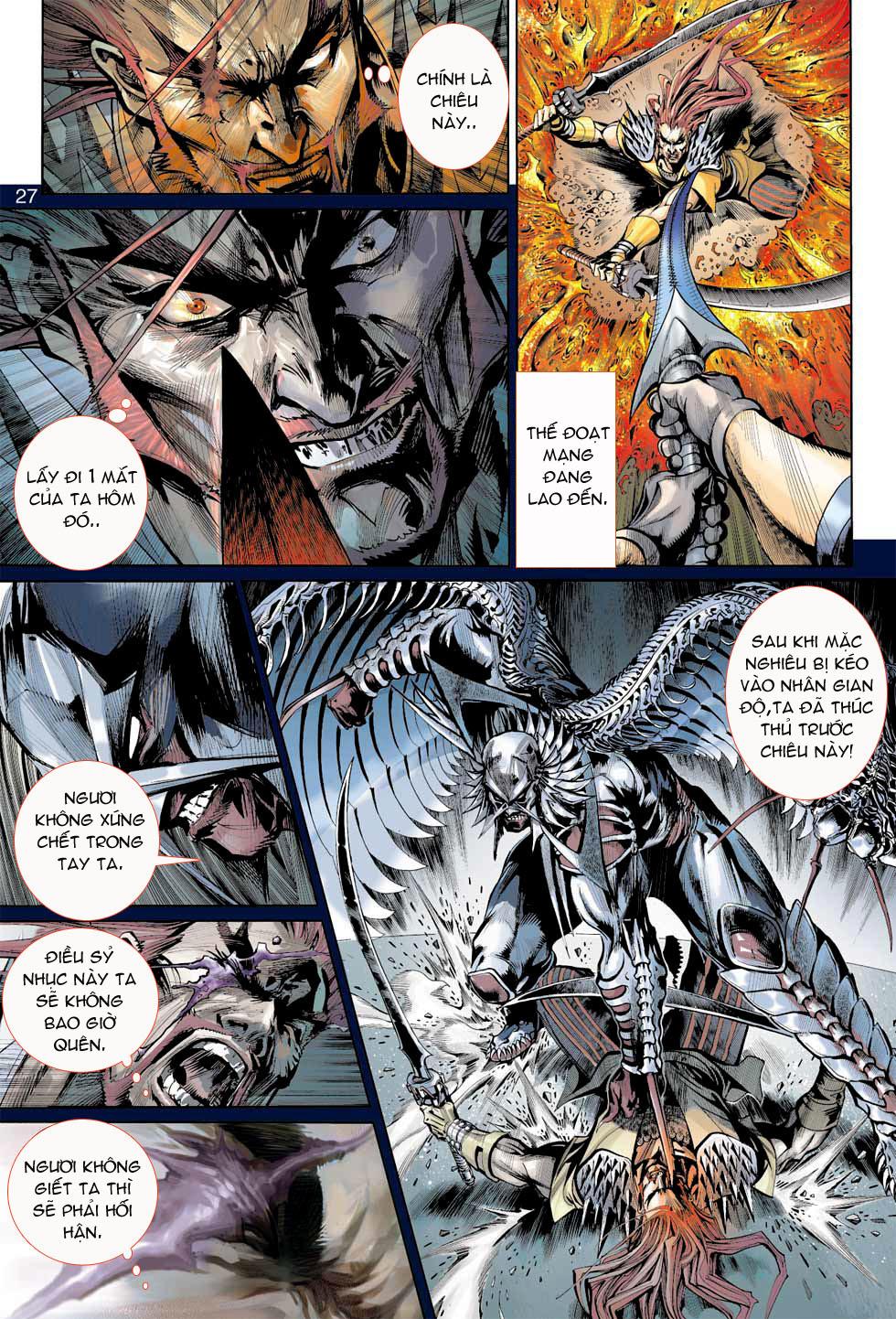 Thần Binh 4 chap 7 - Trang 27
