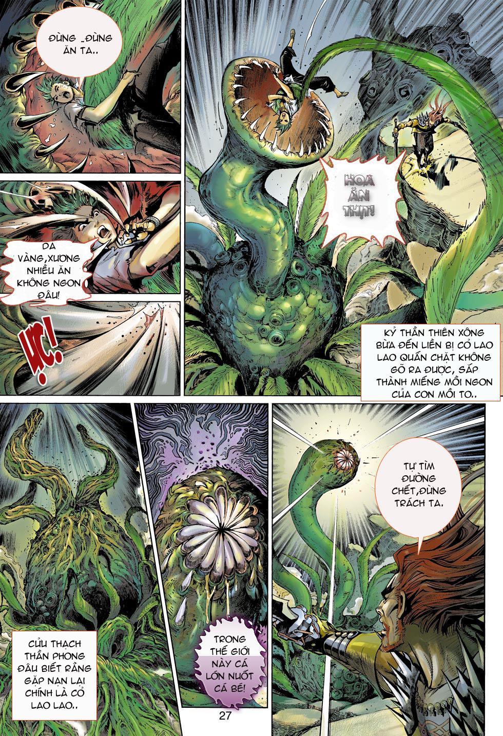Thần Binh 4 chap 4 - Trang 27